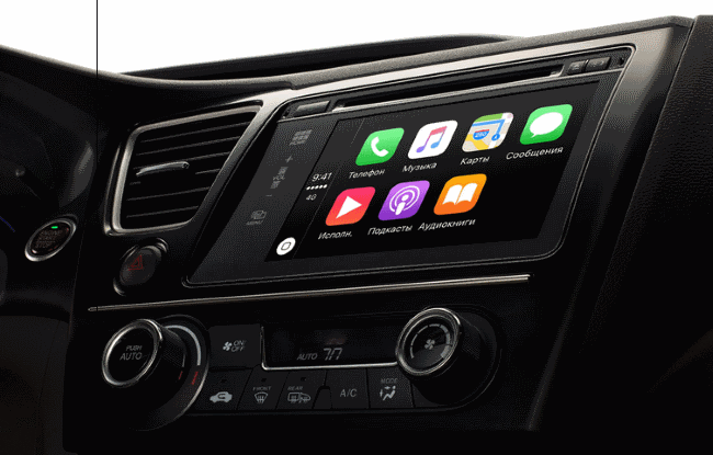 Apple CarPlay Обзор